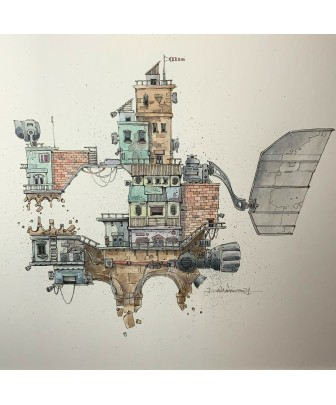 THE WANDERING HOUSE